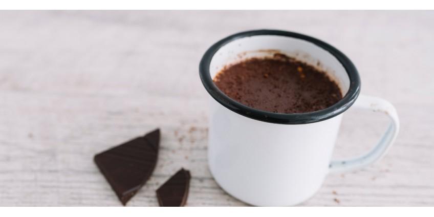 Receita de Chocolate Quente Fit