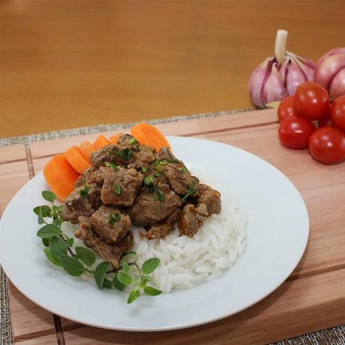 Carne de Panela, Mix de Legumes e Arroz Integral (não disponível)