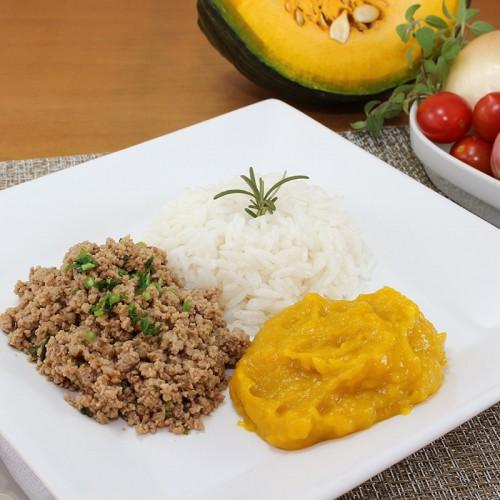 Carne Moída, Mix de Legumes e Arroz Integral (não disponível)