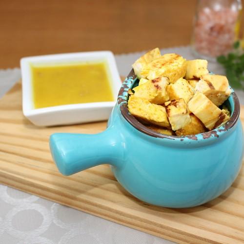 Frango ao Molho de Mostarda, Mix de Legumes e Arroz Integral (não disponível)