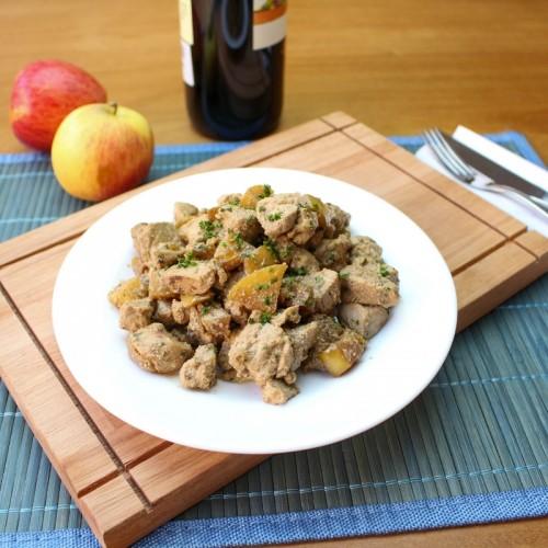 Mignon Suíno ao Vinho e Maçã (somente proteína)