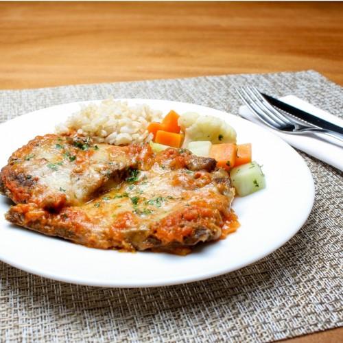 Parmegiana Fit de Carne (somente proteína)