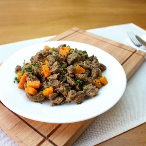 Picadinho de Carne com Azeite de Dendê (somente proteína)